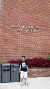 Figure 1: The David Rittenhouse Laboratory