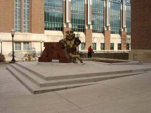 Figure 1: The Golden Gopher at Coffman